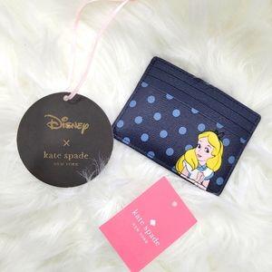 NWT Disney x Kate Spade Wallet Cardholder